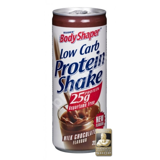 Weider Low Carb Protein Shake, 250 ml